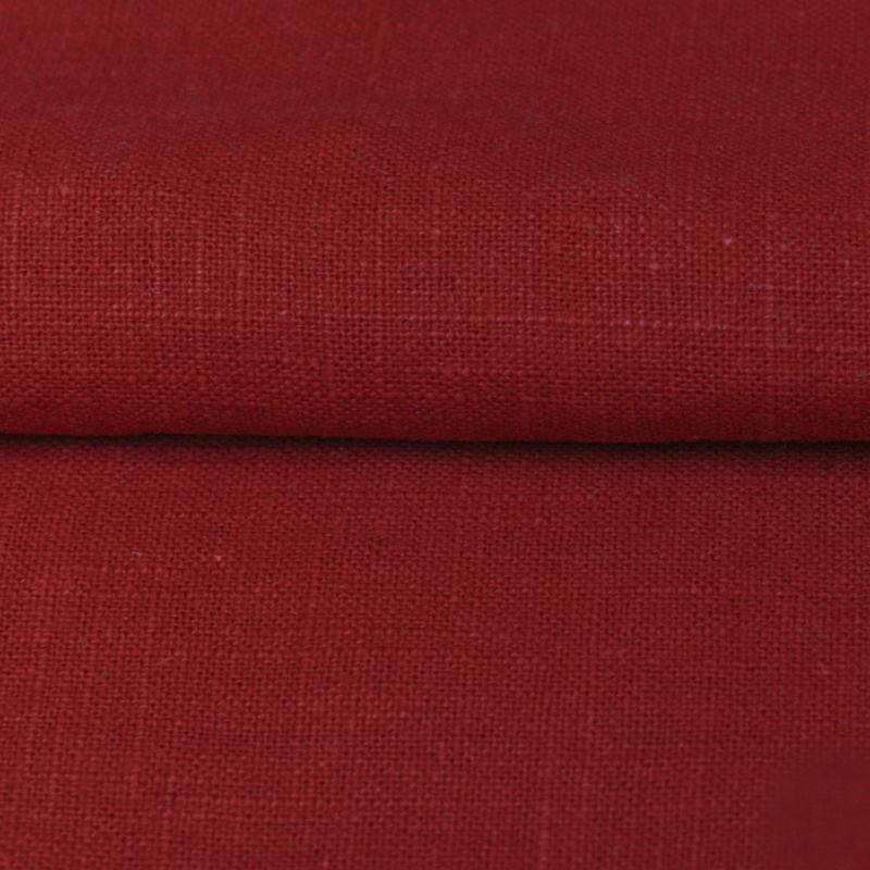 ผ้าใยกัญชงสีแดงผสมผ้าฝ้าย-2